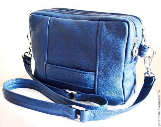 Мужские сумки ручной работы. Ярмарка Мастеров - ручная работа. Купить Indigo. Handmade. Тёмно-синий, сумка ручной работы