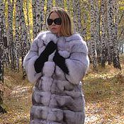 Одежда handmade. Livemaster - original item Fur coat Fox volevogo. Cross. sleeve 3/4. Handmade.