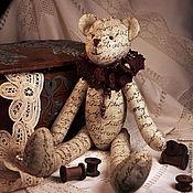 Куклы и игрушки ручной работы. Ярмарка Мастеров - ручная работа Тильда мишка винтажный. Handmade.