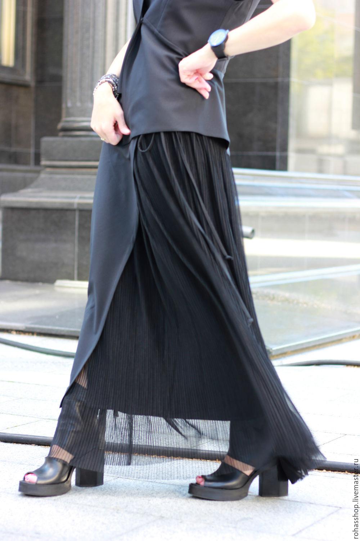 Длинная юбка для цветов