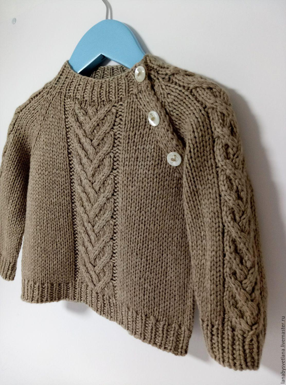 Связать детский свитер схема 615