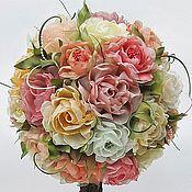 Цветы и флористика ручной работы. Ярмарка Мастеров - ручная работа Дерево из роз. Handmade.