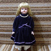 Винтаж ручной работы. Ярмарка Мастеров - ручная работа Винтажная кукла Аннабель. Handmade.