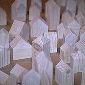 Сувениры и подарки ручной работы. Ярмарка Мастеров - ручная работа домики-заготовки. Handmade.