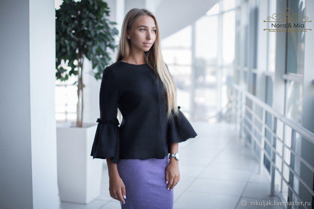 Жакет женский валяный Sharman, Пиджаки, Днепр,  Фото №1