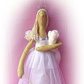Куклы и игрушки ручной работы. Ярмарка Мастеров - ручная работа Принцесса с котенком. Handmade.