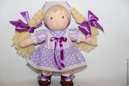 Вальдорфская игрушка ручной работы. Ярмарка Мастеров - ручная работа. Купить Кукла Даша. Handmade. Кукла ручной работы, кукла