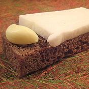 """Косметика ручной работы. Ярмарка Мастеров - ручная работа Мыло """"Бутерброд с салом"""". Handmade."""