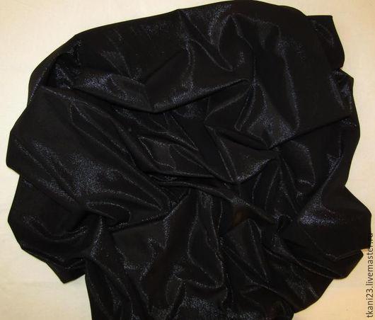 Шитье ручной работы. Ярмарка Мастеров - ручная работа. Купить Шелк натуральный арт.10 ШК (Корея) черный метал. напыление. Handmade.