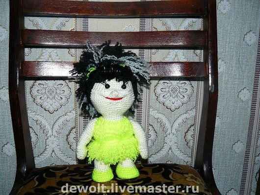 Человечки ручной работы. Ярмарка Мастеров - ручная работа. Купить Вязанная кукла. Handmade. Кукла, вязаная игрушка, Вязание крючком