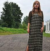 """Одежда ручной работы. Ярмарка Мастеров - ручная работа Платье в стиле Бохо длины миди  """"Олив"""". Handmade."""