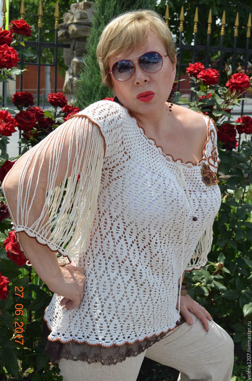 Tunic summer 'Frau Marta', Blouses, Shahty,  Фото №1