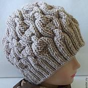 Аксессуары ручной работы. Ярмарка Мастеров - ручная работа Зимняя вязаная шапка для женщин. Handmade.