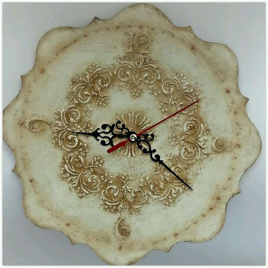 Часы для дома ручной работы. Ярмарка Мастеров - ручная работа. Купить Часы Винтаж. Handmade. Часы, ретро, орнамент