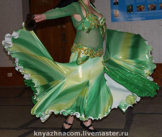 """Купить Костюм """" Фея леса"""" - танец живота, восточный танец, танец, росшив бисером"""