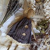 Куклы и игрушки ручной работы. Ярмарка Мастеров - ручная работа Ангел в сером платье. Handmade.