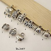 Материалы для творчества handmade. Livemaster - original item Bails for jewelry Art.BU05. Handmade.