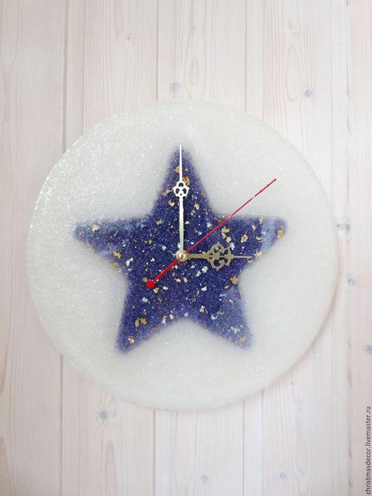 Дорогие покупатели, звездочку можно сделать другого цвета, для детской комнаты, настенные часы, настенные часы в подарок, часы на стену в детскую. для ребенка, украшение детской комнаты. Фиолетовые