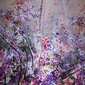 Материалы для творчества ручной работы. Ярмарка Мастеров - ручная работа Итальянский натуральный шелк  Elie Saab. Handmade.