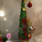 Подарки к праздникам ручной работы. Ярмарка Мастеров - ручная работа Новогодняя ёлочка. Handmade.