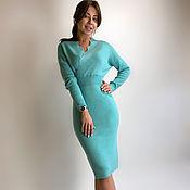 Одежда handmade. Livemaster - original item Turquoise dress. Handmade.