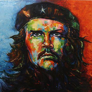 Картины и панно ручной работы. Ярмарка Мастеров - ручная работа Картины: Че Геваро. Handmade.
