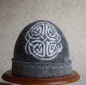 """Для дома и интерьера ручной работы. Ярмарка Мастеров - ручная работа шапка для бани мужская """" Кельтский узел"""". Handmade."""