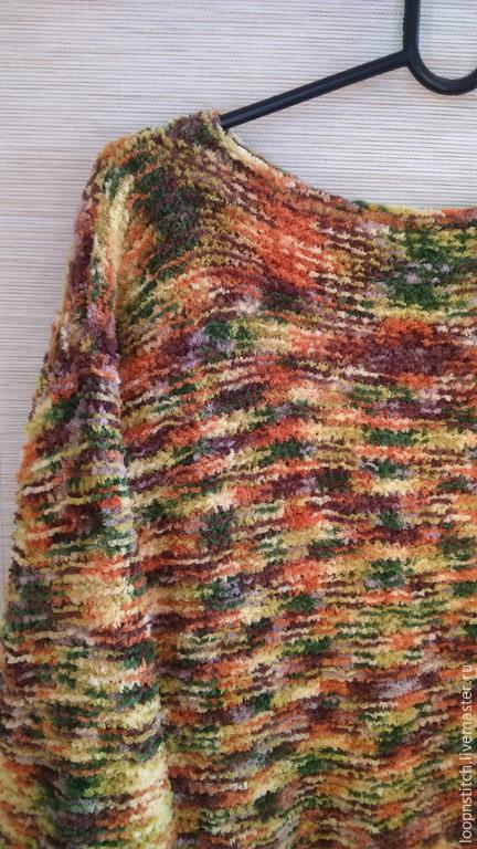 Кофты и свитера ручной работы. Ярмарка Мастеров - ручная работа. Купить Свитер Осень. Handmade. Разноцветный, осенняя мода, микрополиэстер