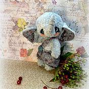 Куклы и игрушки ручной работы. Ярмарка Мастеров - ручная работа Слоник Энтони Игрушка Тедди. Handmade.