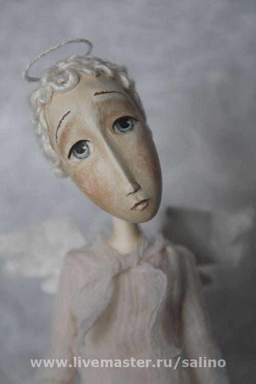 Сказочные персонажи ручной работы. Ярмарка Мастеров - ручная работа. Купить Ангел. Handmade. Ангел, полимерная глина паперклей (paperclay)