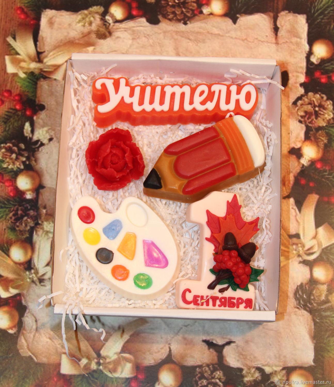 Набор мыла учителям на 1 сентября, Браслеты, Москва, Фото №1