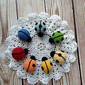 Play sets handmade. Livemaster - original item Educational toy ladybugs. Handmade.