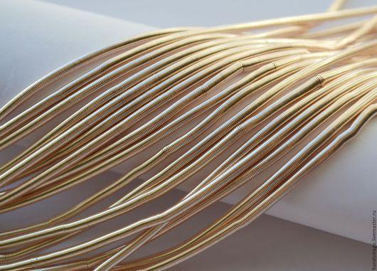 Вышивка ручной работы. Ярмарка Мастеров - ручная работа. Купить Канитель  Golden 3мм  Индия. Handmade. Золотой