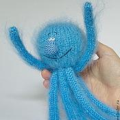 Куклы и игрушки ручной работы. Ярмарка Мастеров - ручная работа Осьминог вязаный игрушка ручной работы амигуруми осьминожки. Handmade.