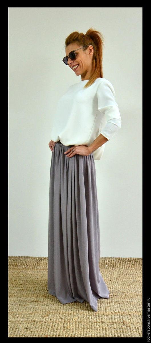 длинная юбка, юбка в пол, женская юбка, красивая юбка, одежда на заказ, длинная юбка в пол, повседневная одежда, нарядная юбка, серая юбка, юбка на заказ, модная одежда, дизайнерская одежда