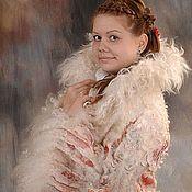 Одежда handmade. Livemaster - original item Fleece coat