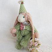 """Куклы и игрушки ручной работы. Ярмарка Мастеров - ручная работа Зайчик """"Весенний"""". Handmade."""