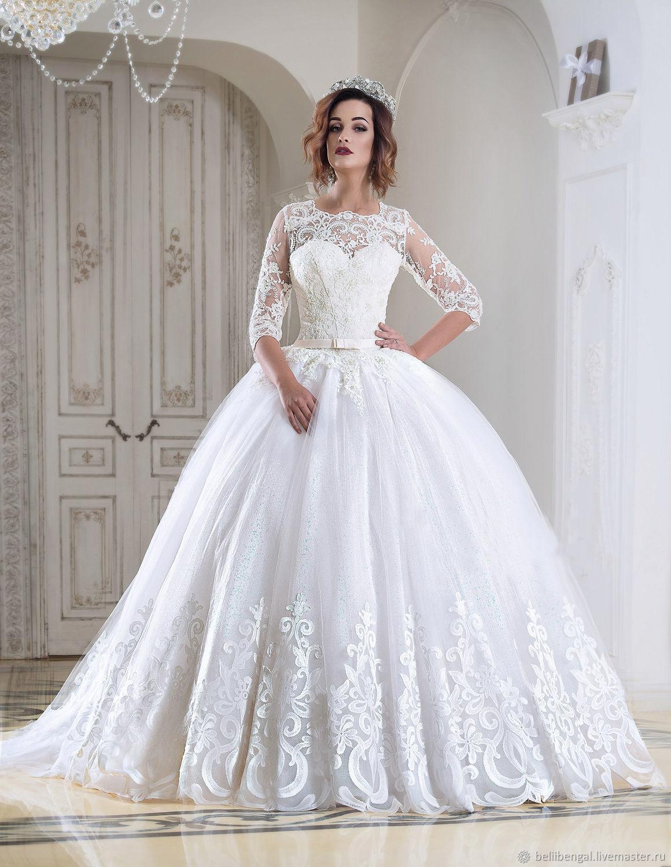 купить свадебное платье красное пышное платье