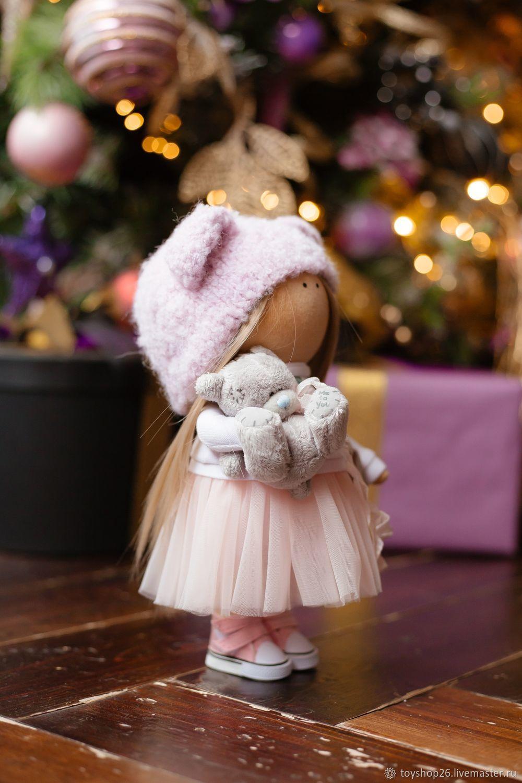 Кукла в шапке мишки, Куклы и пупсы, Ставрополь,  Фото №1