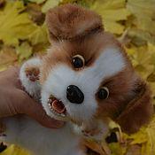 Куклы и игрушки ручной работы. Ярмарка Мастеров - ручная работа щенок , символ года 2018. Handmade.