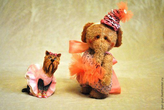 Мишки Тедди ручной работы. Ярмарка Мастеров - ручная работа. Купить Клоунесса Ло Ло. Handmade. Желтый, слоны