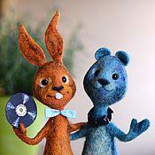 Куклы и игрушки ручной работы. Ярмарка Мастеров - ручная работа Сони и Эрик. Handmade.
