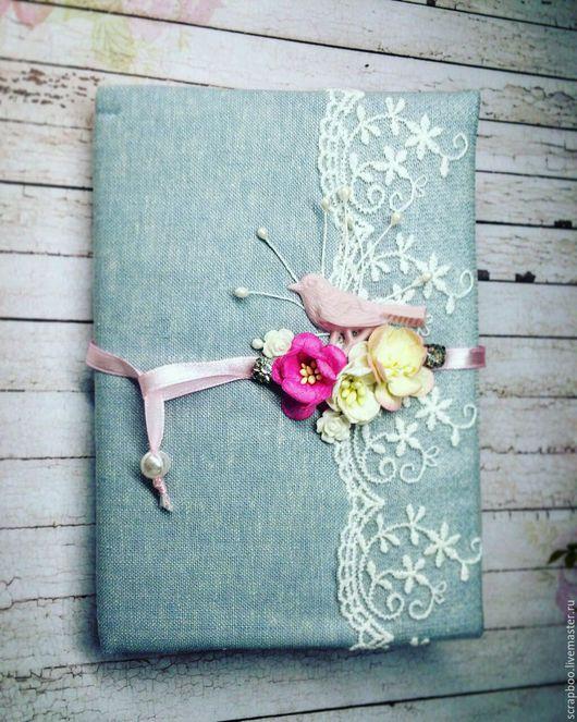 """Блокноты ручной работы. Ярмарка Мастеров - ручная работа. Купить Блокнот """"Весна"""". Handmade. Блокнот ручной работы, блокнот с нуля"""