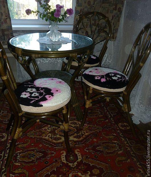 Текстиль, ковры ручной работы. Ярмарка Мастеров - ручная работа. Купить Коврик на стул. Handmade. Коврик для детской, текстиль для дома