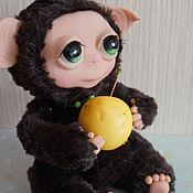 Куклы и игрушки ручной работы. Ярмарка Мастеров - ручная работа Зеленоглазый тролль. Handmade.