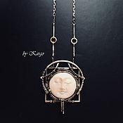 Украшения handmade. Livemaster - original item Necklace Noiri (silver). Handmade.