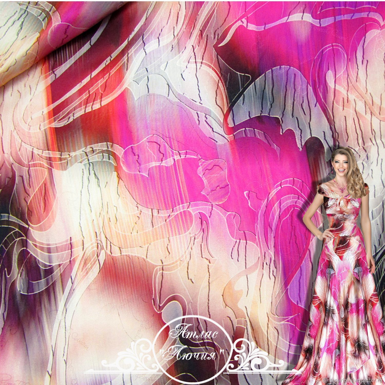 Silk satin, Fabric, Sochi,  Фото №1