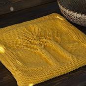 Подушки ручной работы. Ярмарка Мастеров - ручная работа Вязаный чехол на подушку. Handmade.