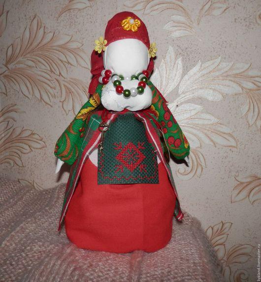 """Народные куклы ручной работы. Ярмарка Мастеров - ручная работа. Купить Обереговая кукла Берегиня  """"Успешница"""" - богатушка. Handmade. Комбинированный"""