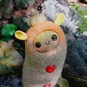 """Войлочная игрушка ручной работы. Ярмарка Мастеров - ручная работа Войлочная игрушка: Лесной волшебник """"Защитник растений"""". Handmade."""